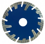 High precision High-ranking diamond turbo saw blade