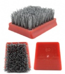 Frankfurt Diamond Abrasive Brush, Diamond and Resin Frankfurt Brushes for Granite Marble