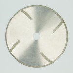 electroplated diamond cutting disc with reinforce