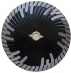 Hot press diamond blade