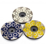 100mm resin filled 4 inch diamond turbo grinding discs wheel for grinding and polishing stone