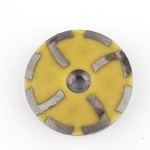 Fine grit 4 inch diamond filling resin grinding cup wheels M14 or 5/8-11 thread for grinding concrete and stone